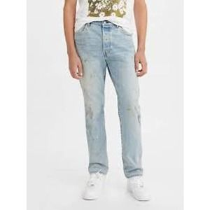 NWT Levi's Jeans 501 '93 Straight Painter Pro Wash